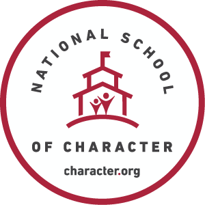 National School of Character Badge