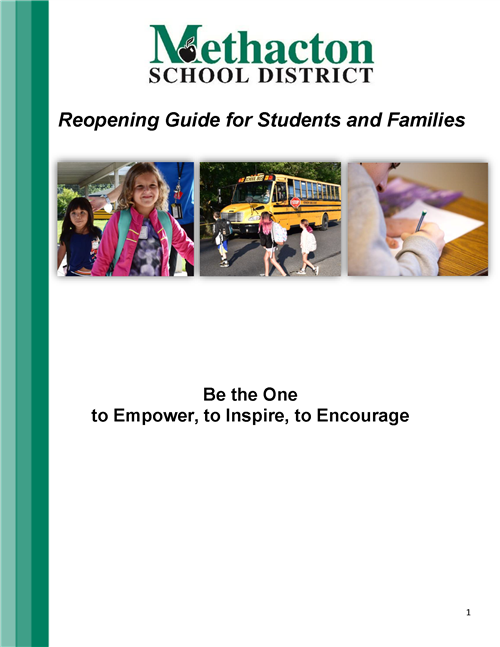 Reopening Guide for Students and Families